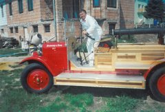 Rekonstrukce Anduly 2001 - 2002 příprava na zkušební jízdu
