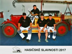 Hasičské slavnosti Litoměřice 2017 - poslední společná fotka